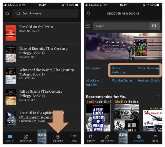 How to get amazon prime kindle books on ipad