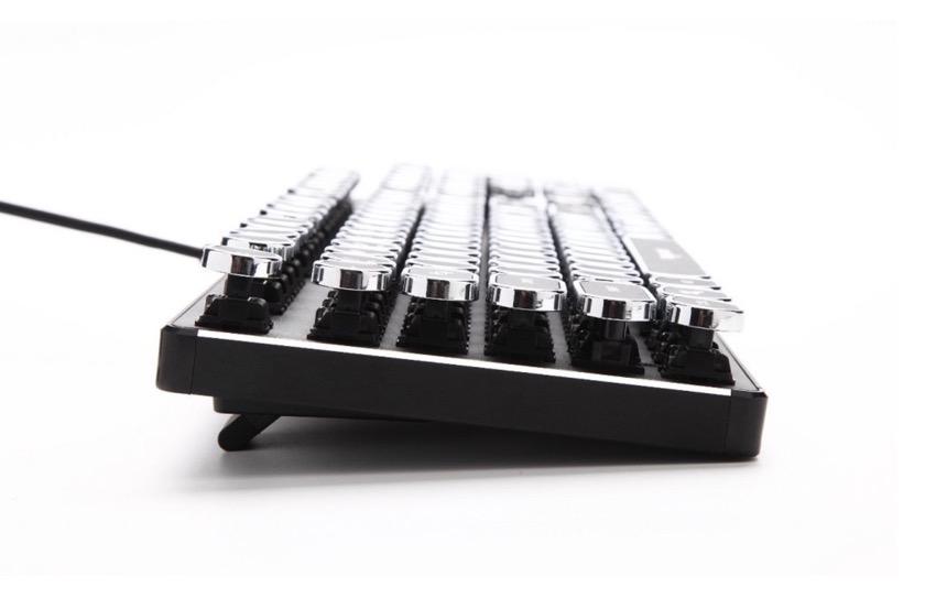 KrBn Retro Vintage Steampunk Mechanical Keyboard for iPad Pro 2018