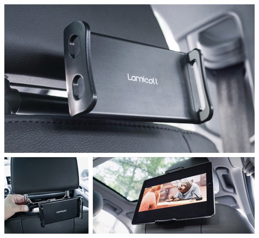 Lamicall Car Headrest Tablet Holder