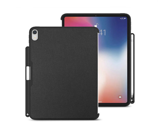 ed3ea289fed687 Luvvit iPad Pro 12.9 Case 2018 Cover with Apple Pencil Holder