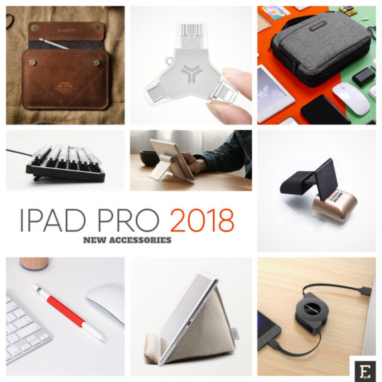 New accessories for Apple iPad Pro 11 and iPad Pro 12.9 2018 release