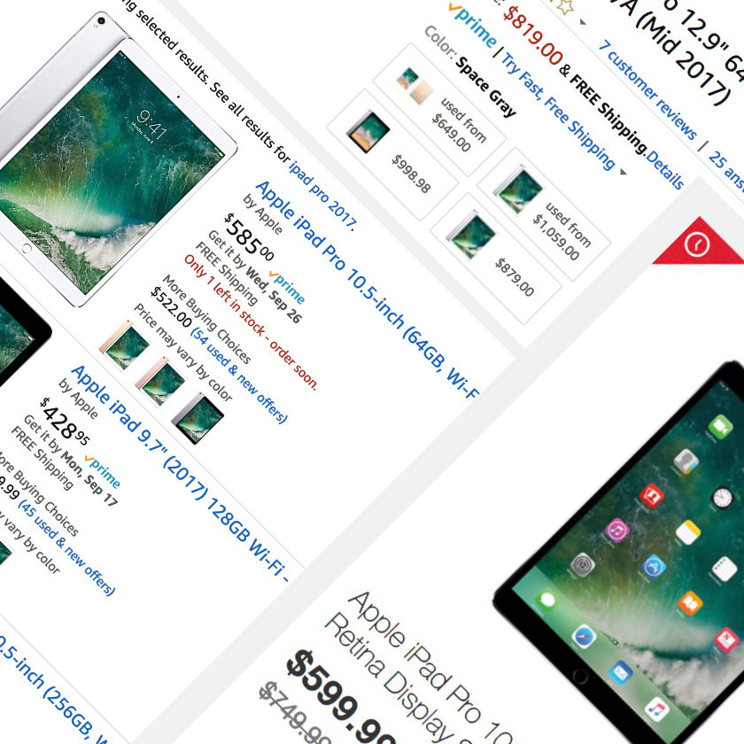 Price cuts on previous-generation iPad Pro tablets have already started