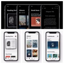 Redesigned Apple Books app for iPad and iPhone