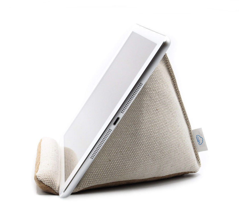 Wan Living Natural Series Tablet Pillow Stand for iPad Pro and other tablets