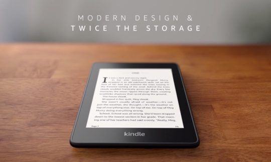Amazon Kindle Paperwhite 4 2018 - facts - storage options