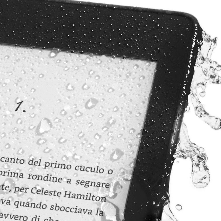 Amazon Kindle Paperwhite 4 2018 is waterproof IPX8 rating