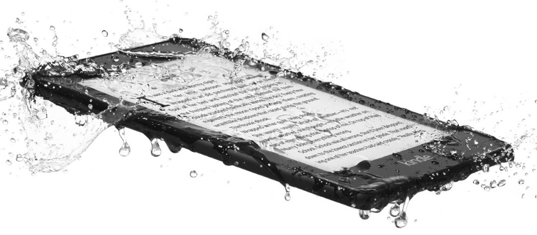 Amazon Kindle Paperwhite 4 2018 make a splash