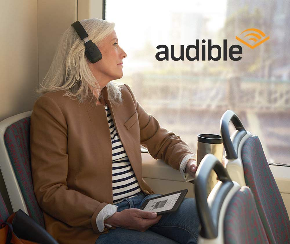 Amazon Kindle Paperwhite 4th-generation - Audible audiobooks