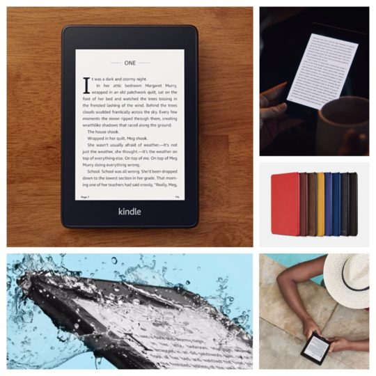 Amazon Kindle Paperwhite 4th-generation - best gifts of 2018