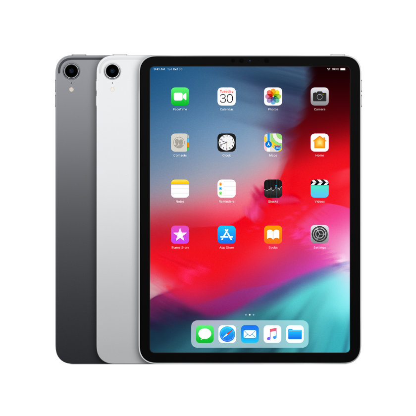 Apple iPad Pro 11 2018 comes in two colors Silver and Space Gray