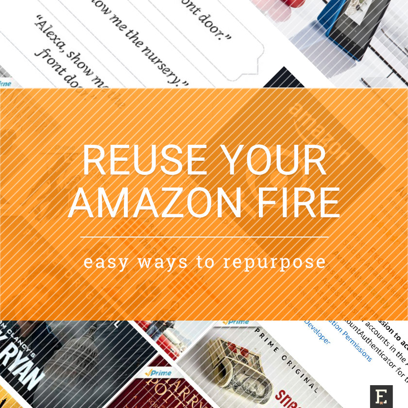 Best ways to repurpose your old Amazon Fire tablet