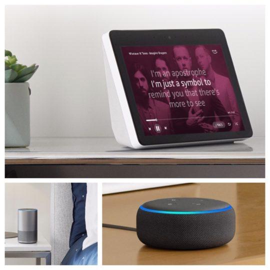 Black Friday 2018 price watch - Echo smart speakers
