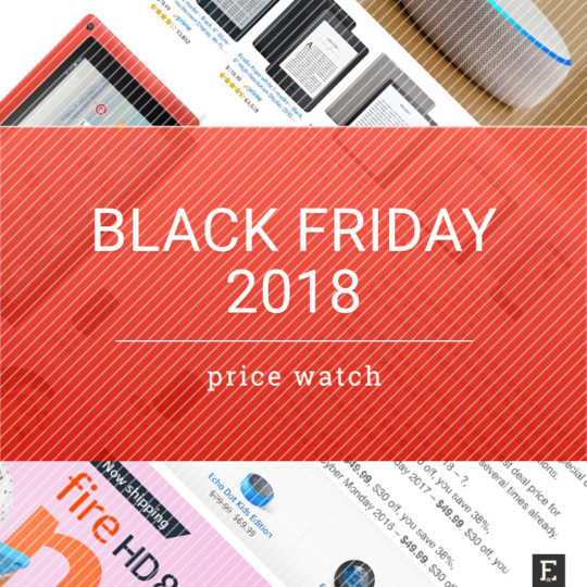 Black Friday 2018 price watch - Kindle e-readers, Amazon Fire tablets, Echo smart speakers
