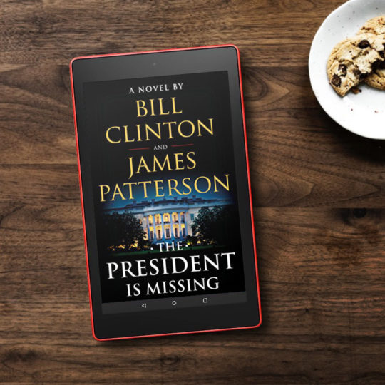 Kindle Daily Deal - save huge on The President Is Missing - October 2018