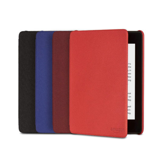 Original Amazon Textured Leather Case Cover for Kindle Paperwhite 4