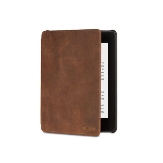 Original Vintage Leather Case Cover for Amazon Kindle Paperwhite 2018 release