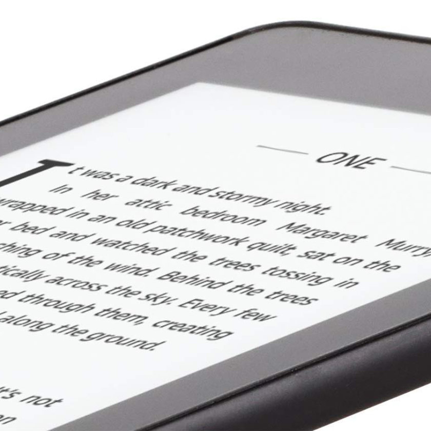 The 4th-generation Kindle Paperwhite sports the new flush-front design
