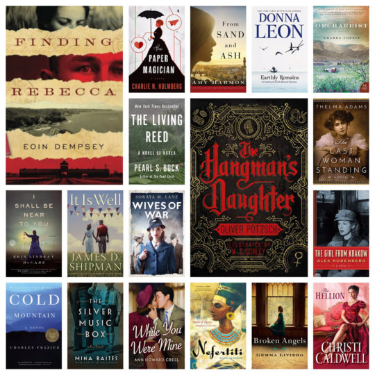 Top 70 historical fiction reads on Kindle Daily Deal in October 2018