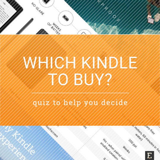Which Amazon Kindle should I buy - get the quiz
