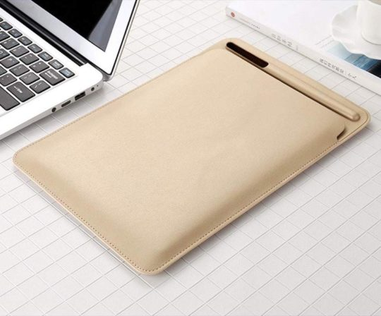Amaping Leather Sleeve Cover for iPad Pro 11-inch 2018