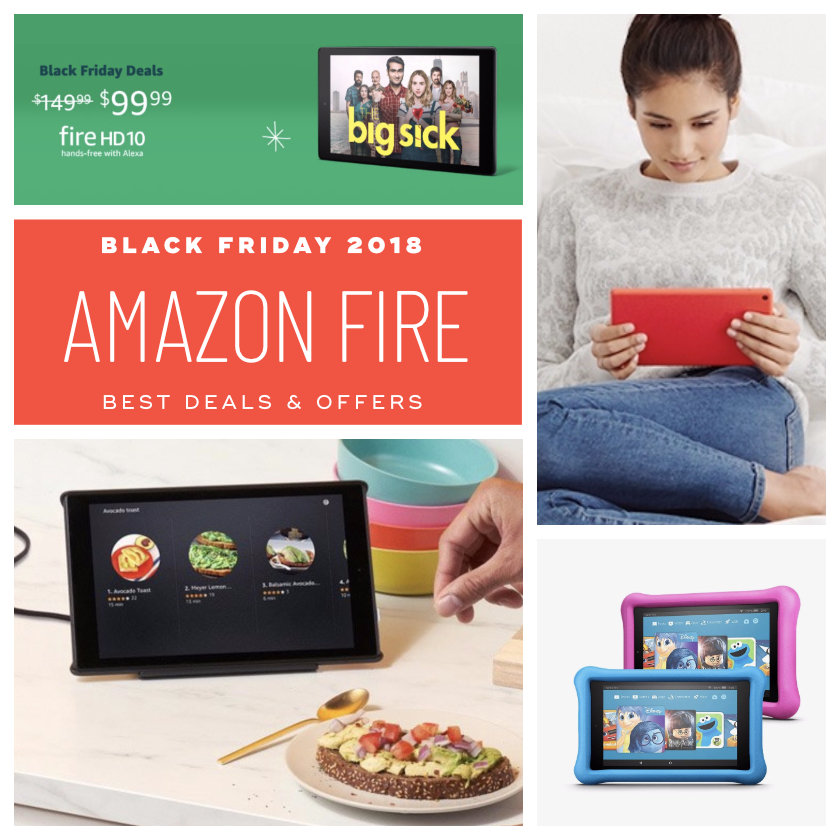 Best Black Friday 2018 deals Amazon Fire tablets and bundles