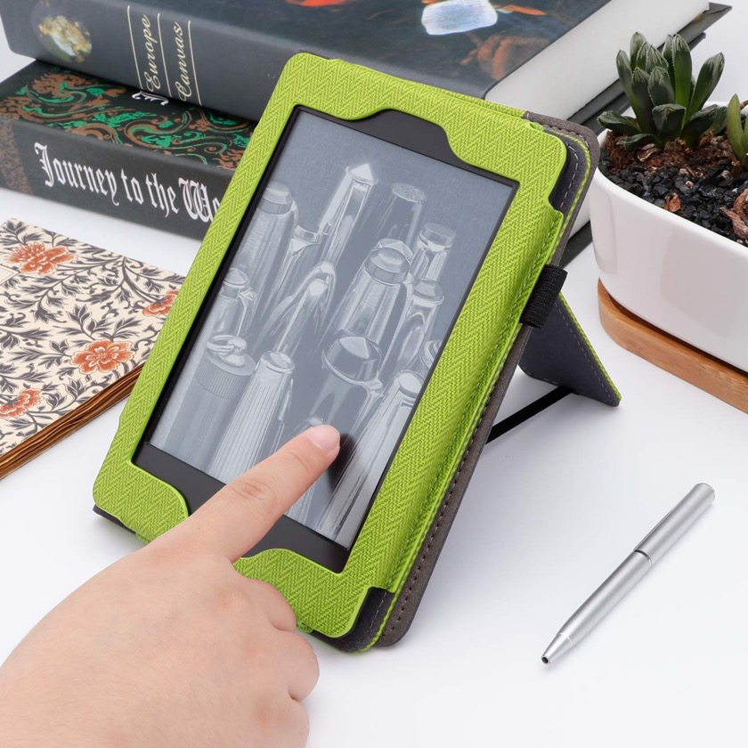 Best Kindle Paperwhite 4 cases on Amazon - Walnew stand folio cover