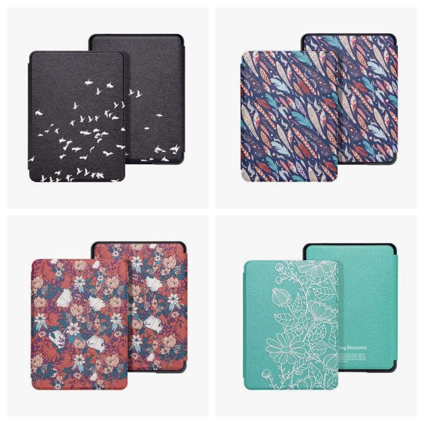 Best-designed cases for Kindle Paperwhite 4th-generation - Walnew Slim-shell cover