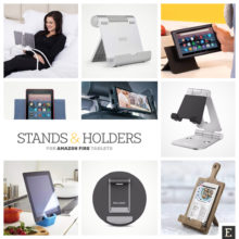 15 Amazon Fire stands and holders that increase functionality