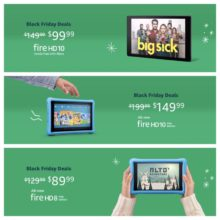 Black Friday 2018 Deals Week - Amazon Fire tablets bundles cases accessories