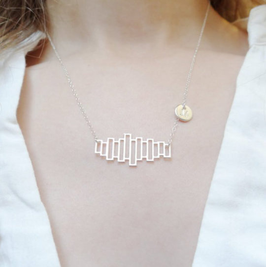 Bookshelf Necklace - gift ideas and deals for Black Friday and Christmas 2018