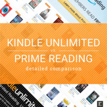 Comparison - Kindle Unlimited vs Amazon Prime Reading