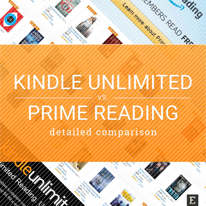 kindle unlimited or amazon prime reading  u2013 which service
