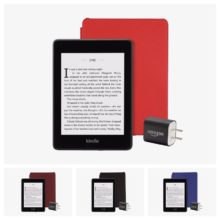 Cyber Monday Week 2018 - Kindle Paperwhite 4 Essentials Bundle with Kindle Unlimited