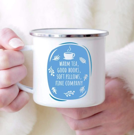 Good Books Metal Mug - literary deals gifts Christmas 2018