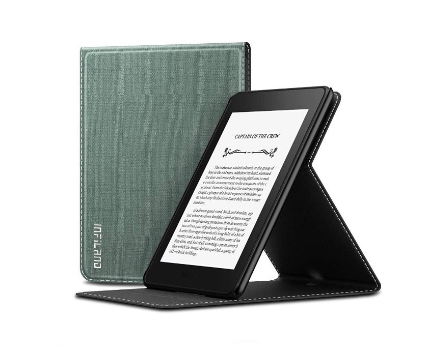 Infiland - best stand case for Amazon Kindle Paperwhite 4 2018