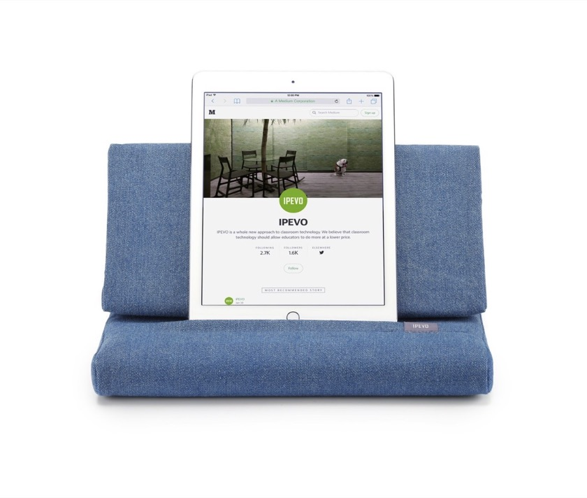 Ipevo Pillow Stand for Amazon Fire and other tablets