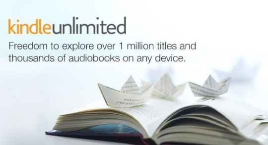 Kindle Unlimited gives freedom to explore over 1 million Kindle books, magazines, and comics