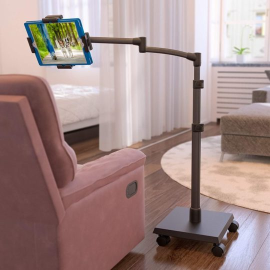 Levo Deluxe tablet floor stand - works with Amazon Fire tablets