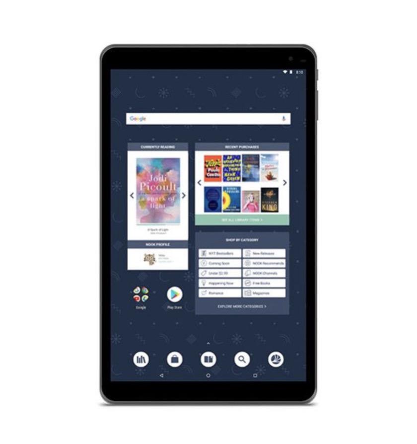 Nook Tablet 10.1 front