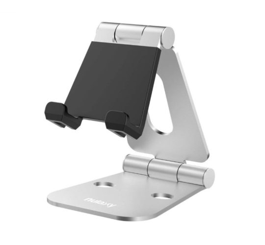 Nulaxy foldable tablet stand and desk holder - fits all Amazon Fire tablets