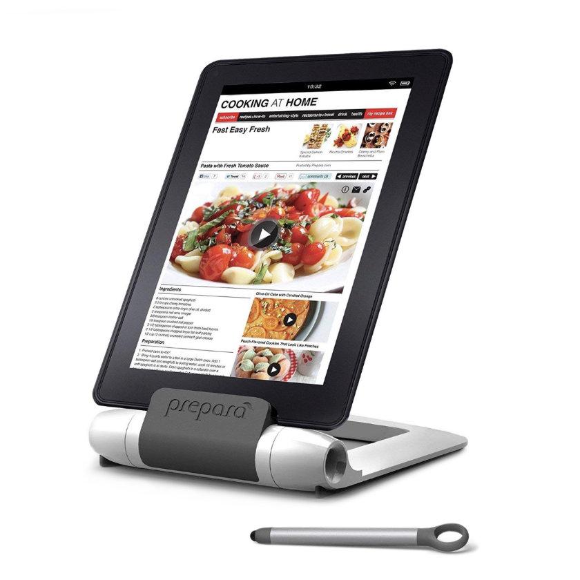 Prepara iPrep Adjustable Kitchen Tablet Cookbook Stand