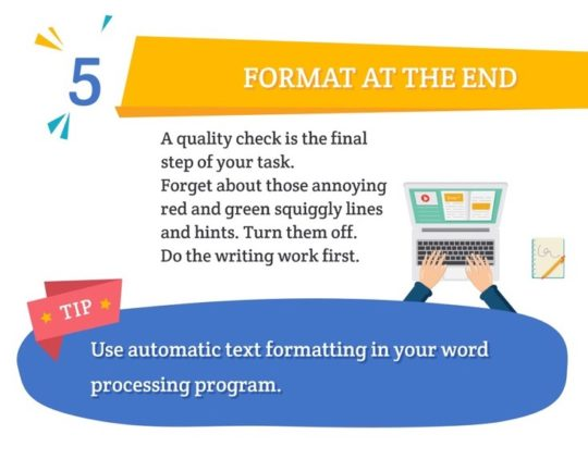 Proven ways writer faster - infographic thumbnail