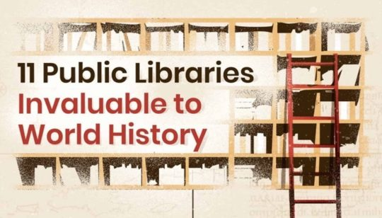 Public libraries in the world history