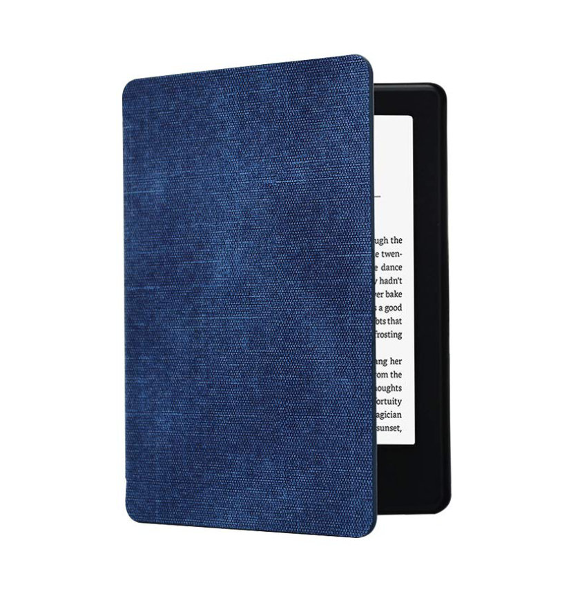 ShellBox Kindle Paperwhite 4 2018 case - in classic blue
