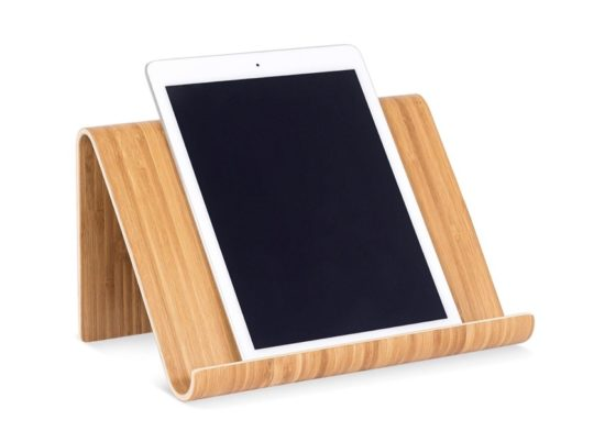 Sofia plus Sam bamboo desk tablet kitchen holder stand