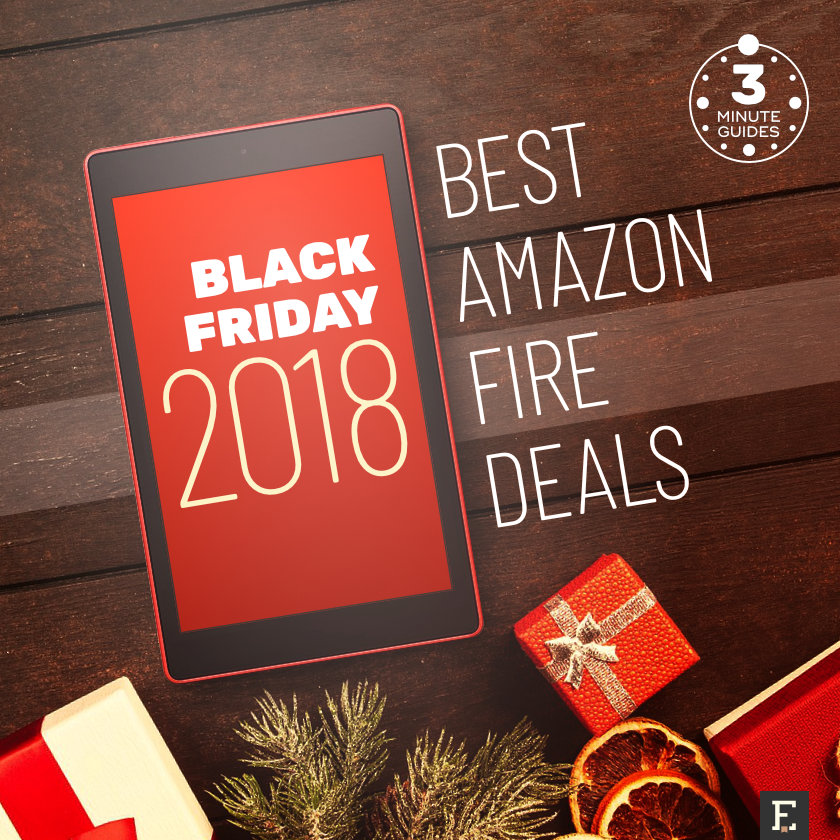 The 3-minute guide to the best Black Friday 2018 deals on Amazon Fire tablets