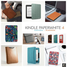 17 designer Kindle Paperwhite 4 case covers you'll be excited to discover