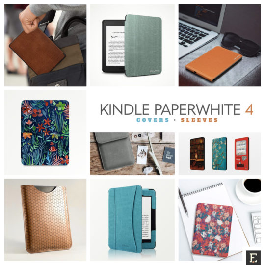 17 designer Kindle Paperwhite 4 case covers you'll be