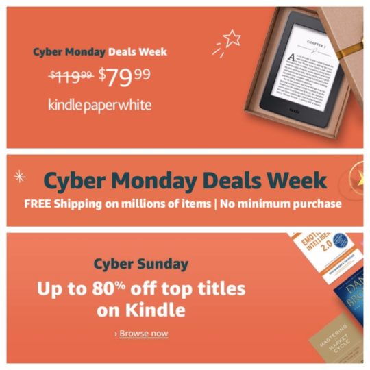The best Cyber Monday 2018 Kindle deals - ebooks ereaders cases services