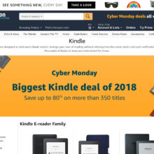 Amazon's Cyber Monday 2018 ad reveals the biggest Kindle book deal of 2018